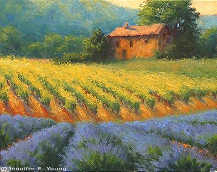 """Season of Plenty"" Oil on linen, 16x20"" ©Jennifer Young"