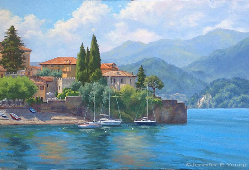Italian Landscape Oil Paintings Jennifer Young Fine Art