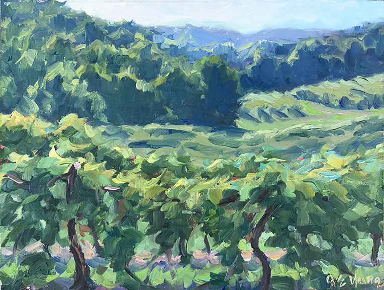 """Summer Vines, Chateau Morrissette"""