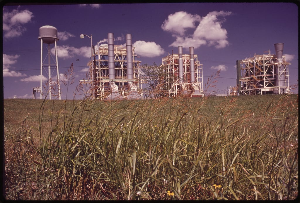 From the U.S. National Archives. Original Caption: Chemical Plants. U.S. National Archives' Local Identifier: 412-DA-3683. Photographer: St. Gil, Marc, 1924-1992. Subjects: New Orleans (Orleans parish, Louisiana, United States) inhabited place, Environmental Protection Agency Project DOCUMERICA