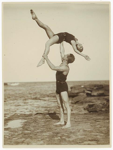 Beach Acrobats