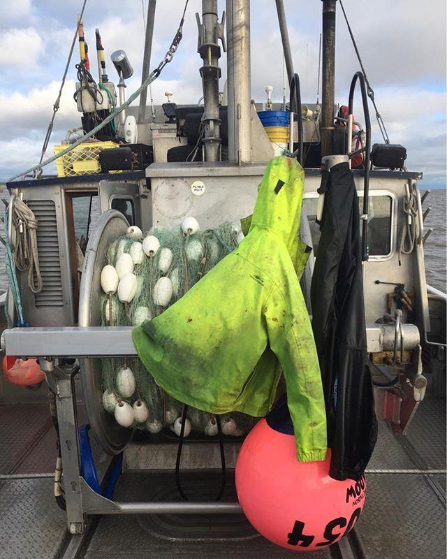 Missing my Bristol Bay uniform!  @grundens #bristolbay #harddayswork #grundensgage #grundens #bestjobontheplanet #knowyourfisherman