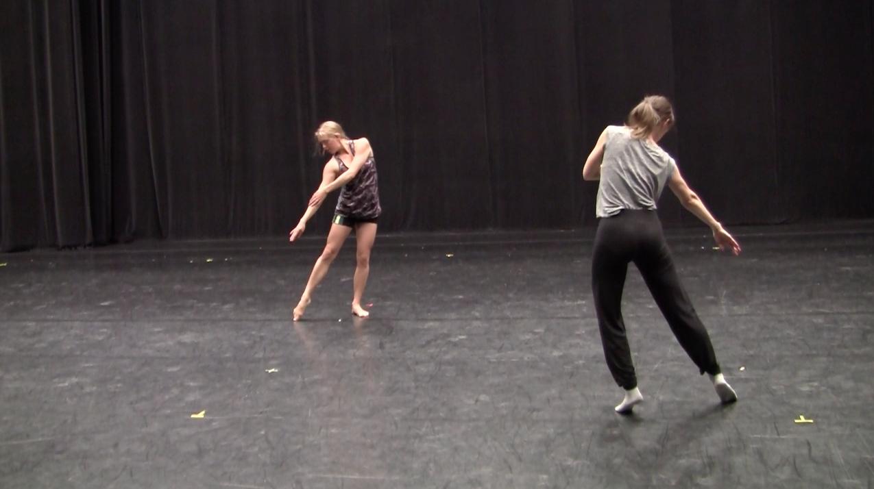 janusohere dance company rehearsal photos