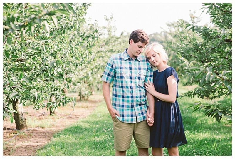 Red Barn Fruit Farm Engagement Session | NovaMarkina Photography | Joy Wed blog http://joy-wed.com