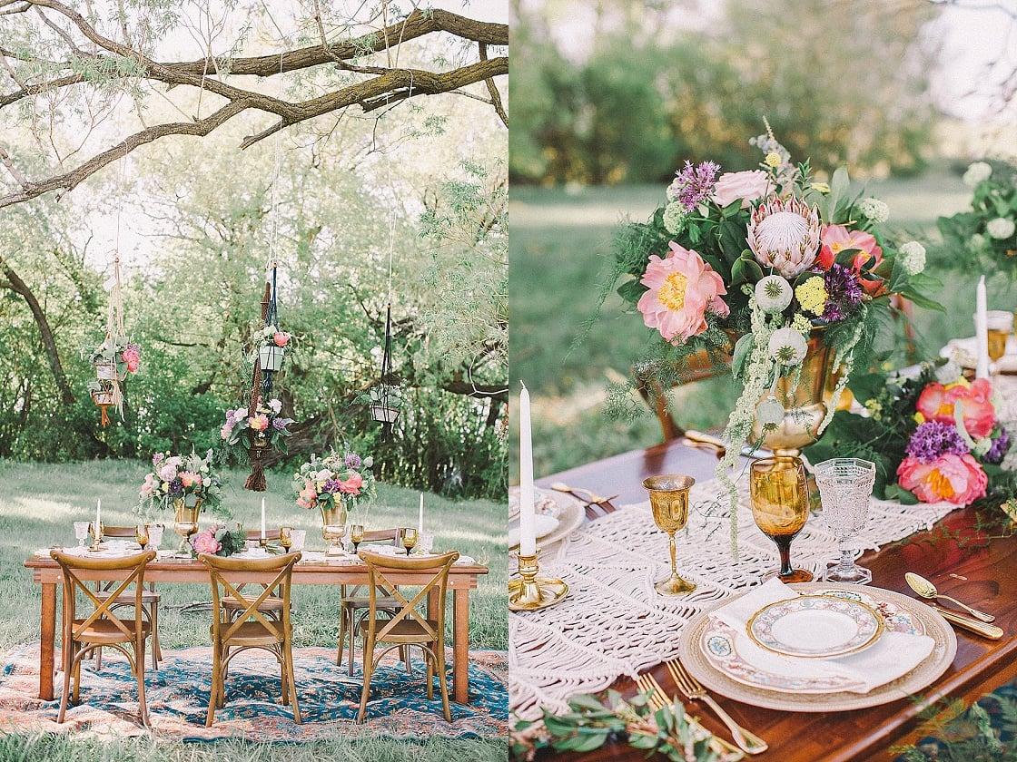 Bohemian Wedding Inspiration | Sharon Litchfield | Joy Wed blog | http://www.joy-wed.com
