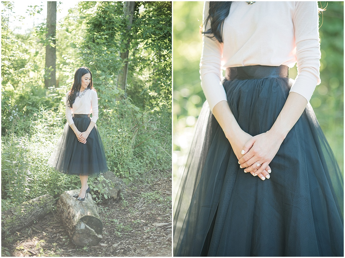 Romantic Engagement Session | Blynda DaCosta | Joy Wed blog | Stacey Foley | www.joy-wed.com