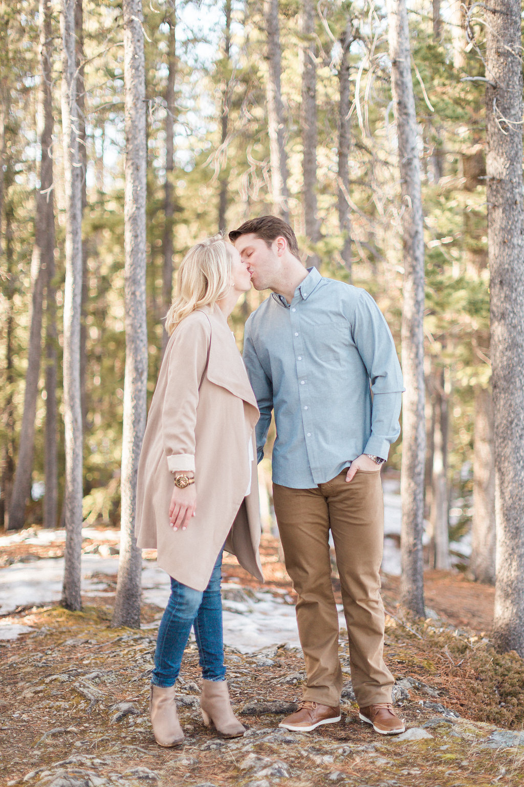 Mountain Engagement | Heidrich Photography | Banff Wedding Photographer | Joy Wed blog | http://www.joywed.com/blog