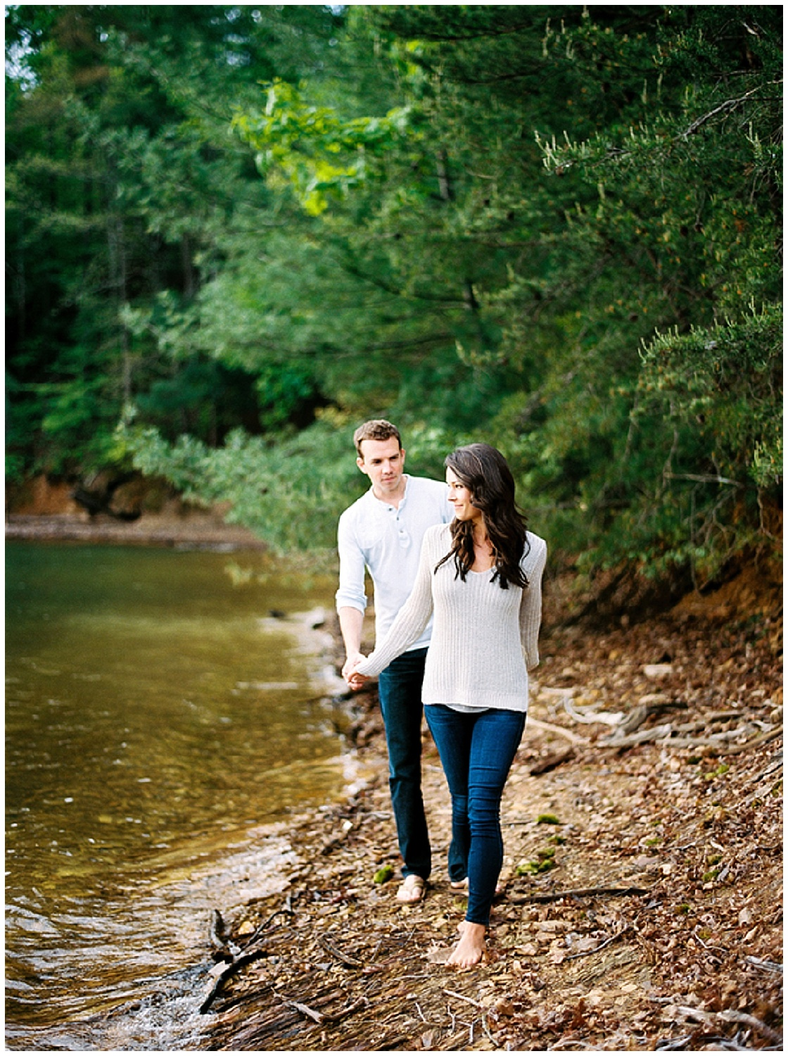 Tennessee Engagement Session | Camping Engagement Session | Fishing Engagement Session | Joy Wed blog | Finch Photo | www.joy-wed.com