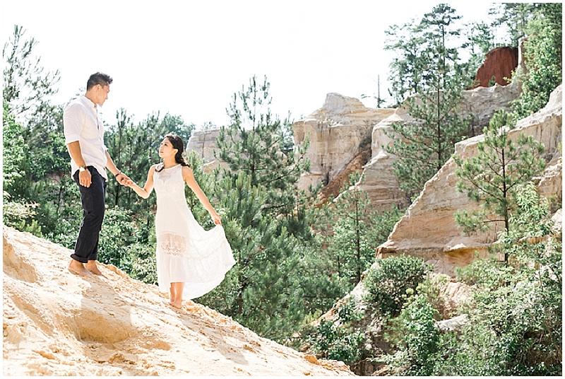 Providence Canyon Engagement   Georgia Engagement Session   ENMUSE Photography   Joy Wed blog   http://www.joy-wed.com
