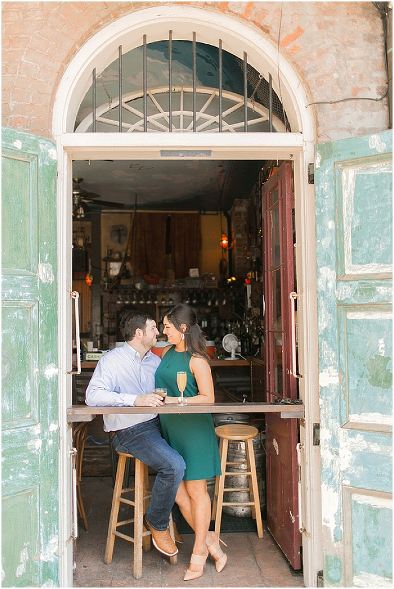Louisiana Engagement Session | French Quarter, Louisiana | Arte De Vie | Joy Wed blog | www.joy-wed.com