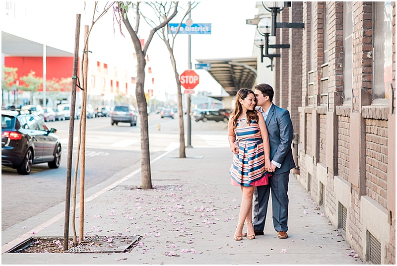 Los Angeles Engagement Session | LA Art District | Mink Photography | Joy Wed blog | www.joy-wed.com
