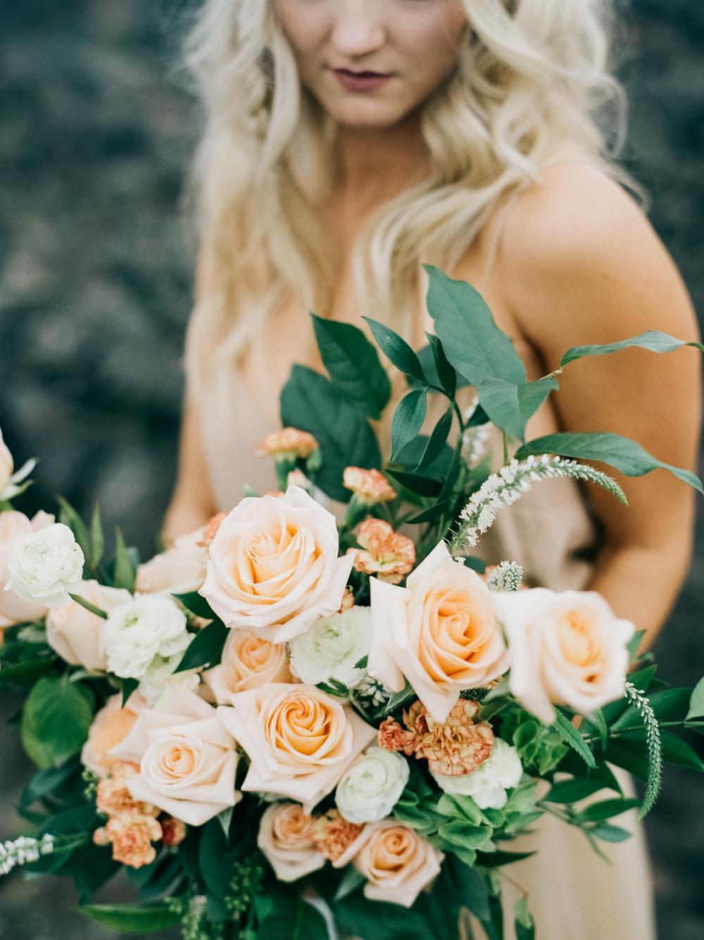 Lava Field Bridal Inspiration | Kendra Elise Photography | Joy Wed blog | http://www.joy-wed.com