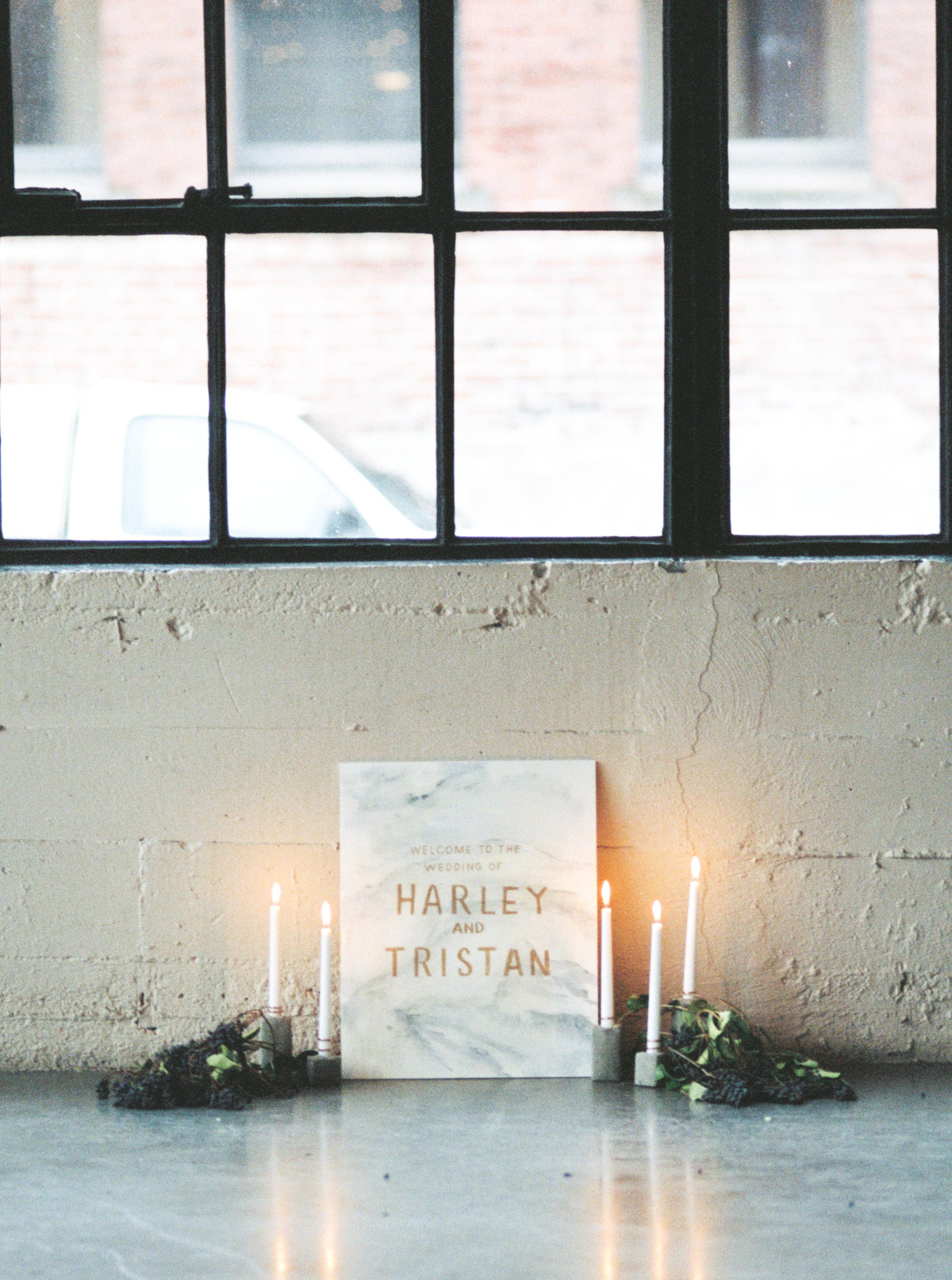 Industrial Wedding Inspiration | Mylyn Wood Photography | Joy Wed | http://www.joy-wed.com