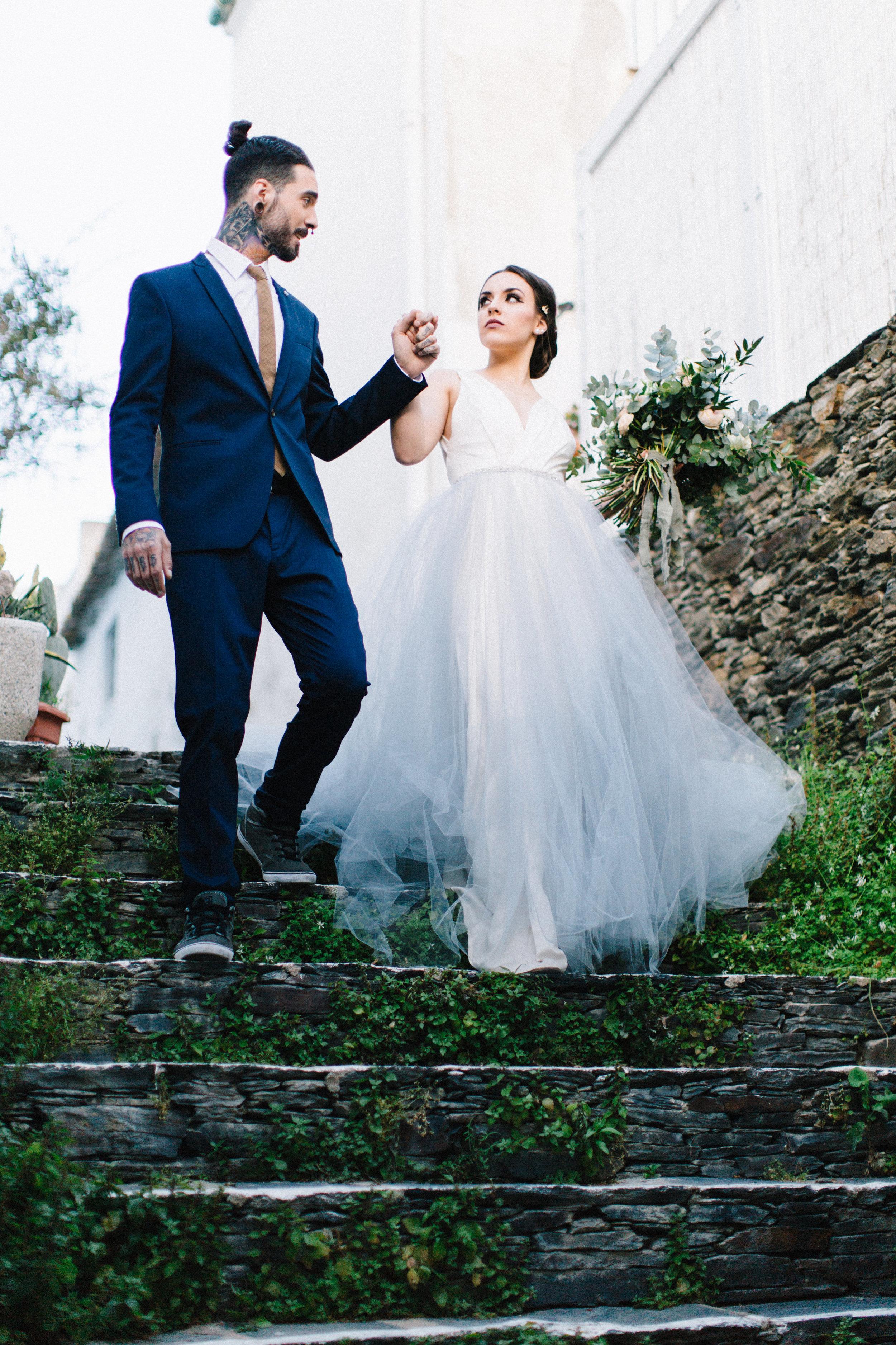Cadaques Wedding Inspiration   Four Corners Photography   Joy Wed   http://www.joy-wed.com