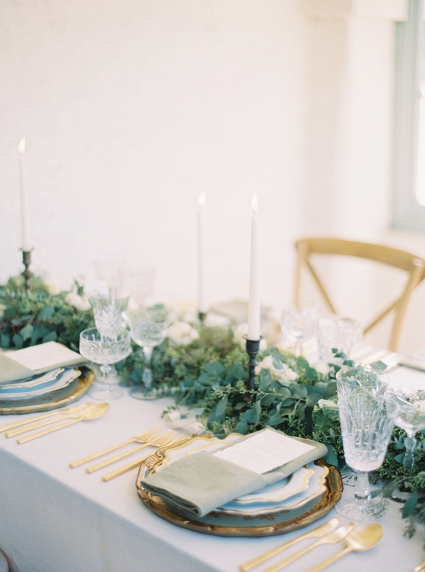 Spanish Wedding Inspiration | Ranch Guajome Adobe Wedding | Nicole Colwell Photography | Joy Wed | Organic Wedding | Organic Wedding Inspiration | Organic Wedding Centerpiece