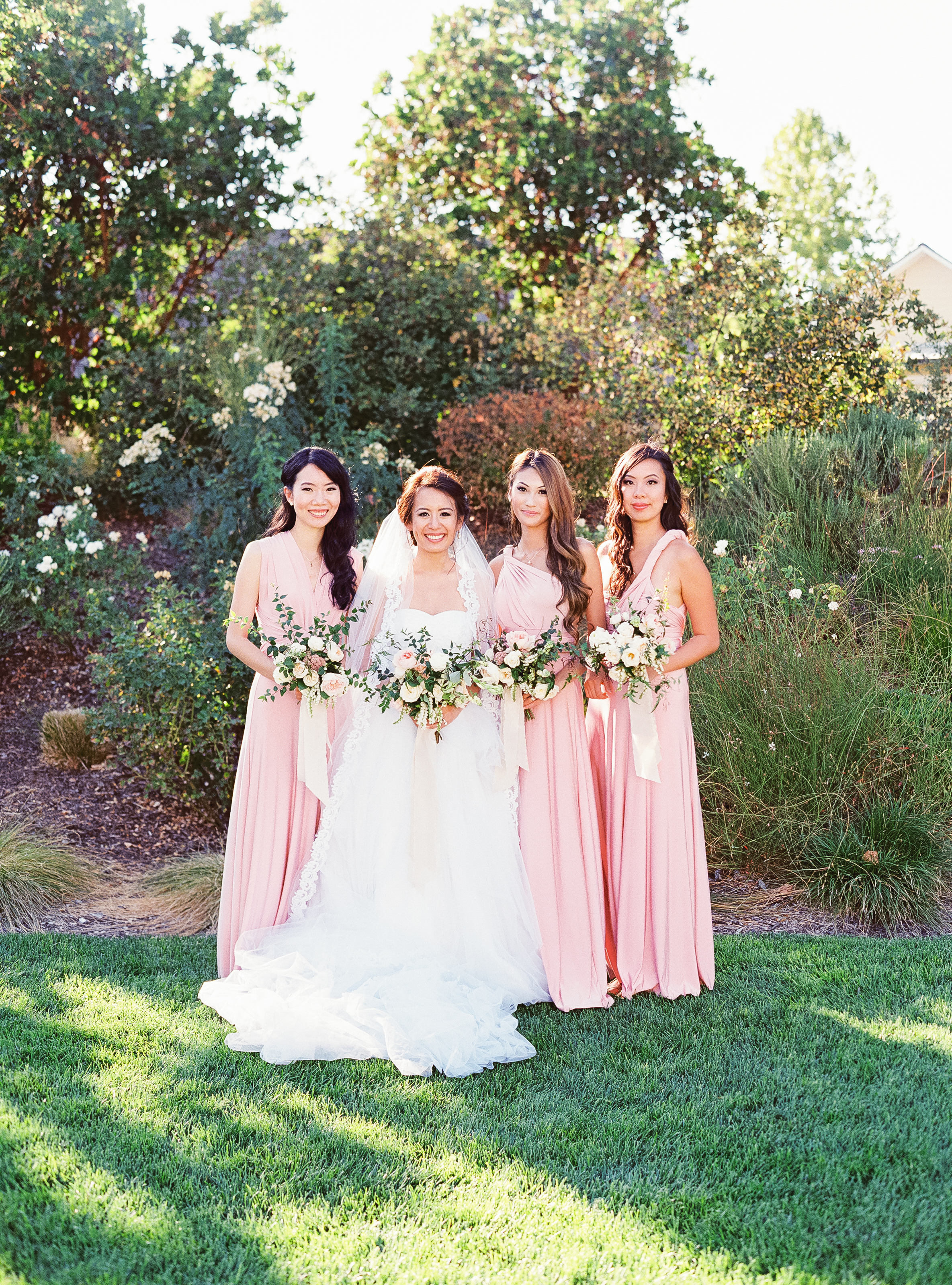 Napa Valley Wedding | Michele Beckwith | Chinese Wedding | Vineyard Wedding | Fine Art Wedding Blog | Joy Wed | Canadian Wedding Blog | Blush Bridesmaids Dress