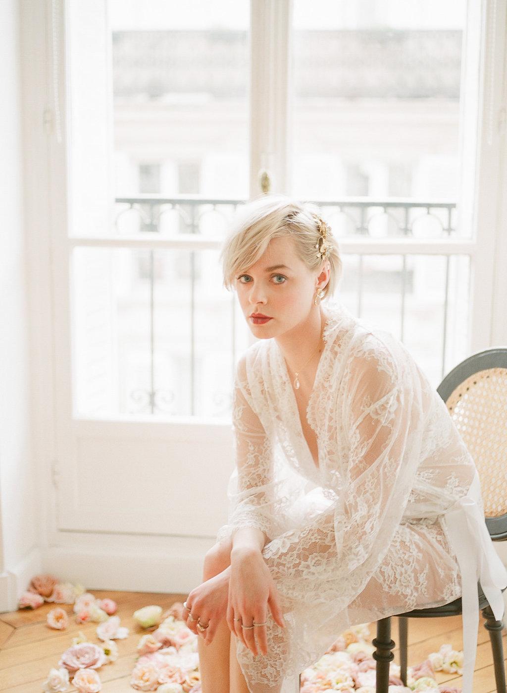 Paris Wedding   Parisian Wedding Inspiration   Parisian Wedding   Harriette Earnshaw   Bridal Boudoir   Fine Art Wedding Blog   Joy Wed