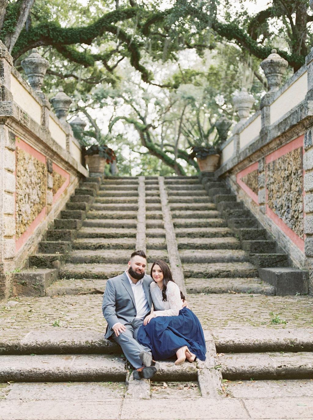 Vizcaya Museum Engagement | Museum Wedding Inspiration | Amanda Berube | Portland Wedding Photographer | Fine Art Wedding Blog | Joy Wed