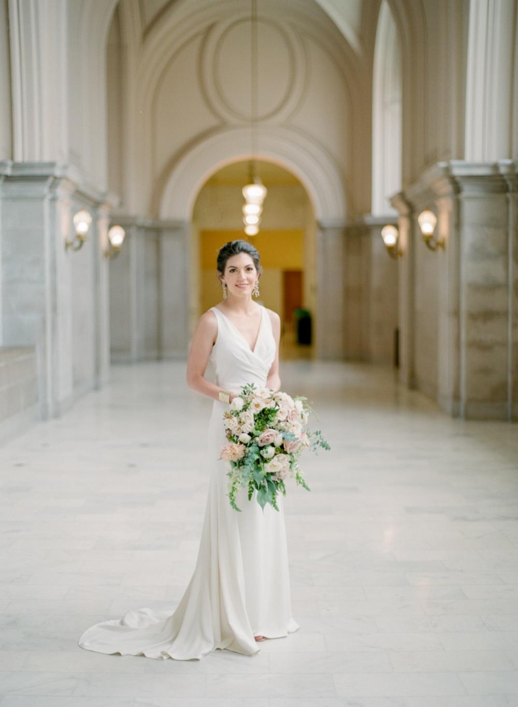 San Francisco City Hall Wedding | Amanda Watson Photography | Intimate Wedding Inspiration | San Francisco Elopement | Fine Art Wedding Blog | Joy Wed | San Francisco Wedding Photographer