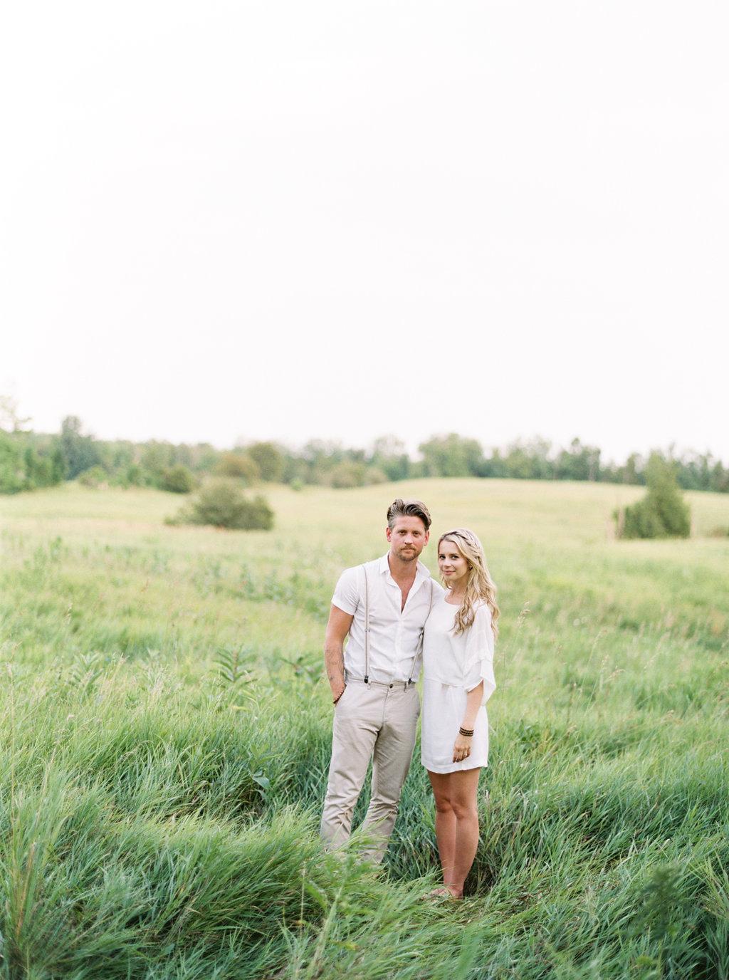 Farmhouse Engagement Session | Kayla Yestal | Ontario Wedding Photographer | Toronto Photographer | Canadian Wedding | Fine Art Wedding Blog | Canadian Wedding Blog | Joy Wed | Stacey Foley Design