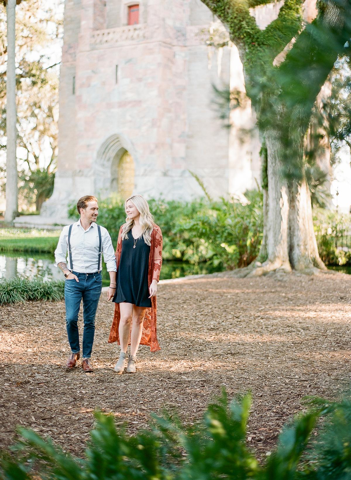 Bok Tower Gardens Engagement Session   Trendy Engagement Session   The Ganeys   Fine Art Engagement Session   Canadian Wedding Blog   Joy Wed   Fine Art Wedding Blog