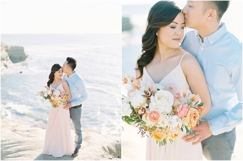 Sunset Cliffs Engagement Session | Mallory Dawn Photography | San Diego Engagement Session | California Photographer | Fine Art Wedding Blog | Canadian Wedding Blog | Joy Wed | Stacey Foley Design
