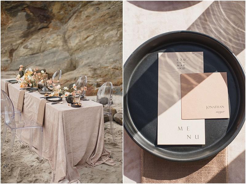 Cape Kiwanda Wedding | Minimalist Wedding | Contemporary Wedding | Alixann Loosle | Color Theory Collective | Beach Wedding | Joy Wed