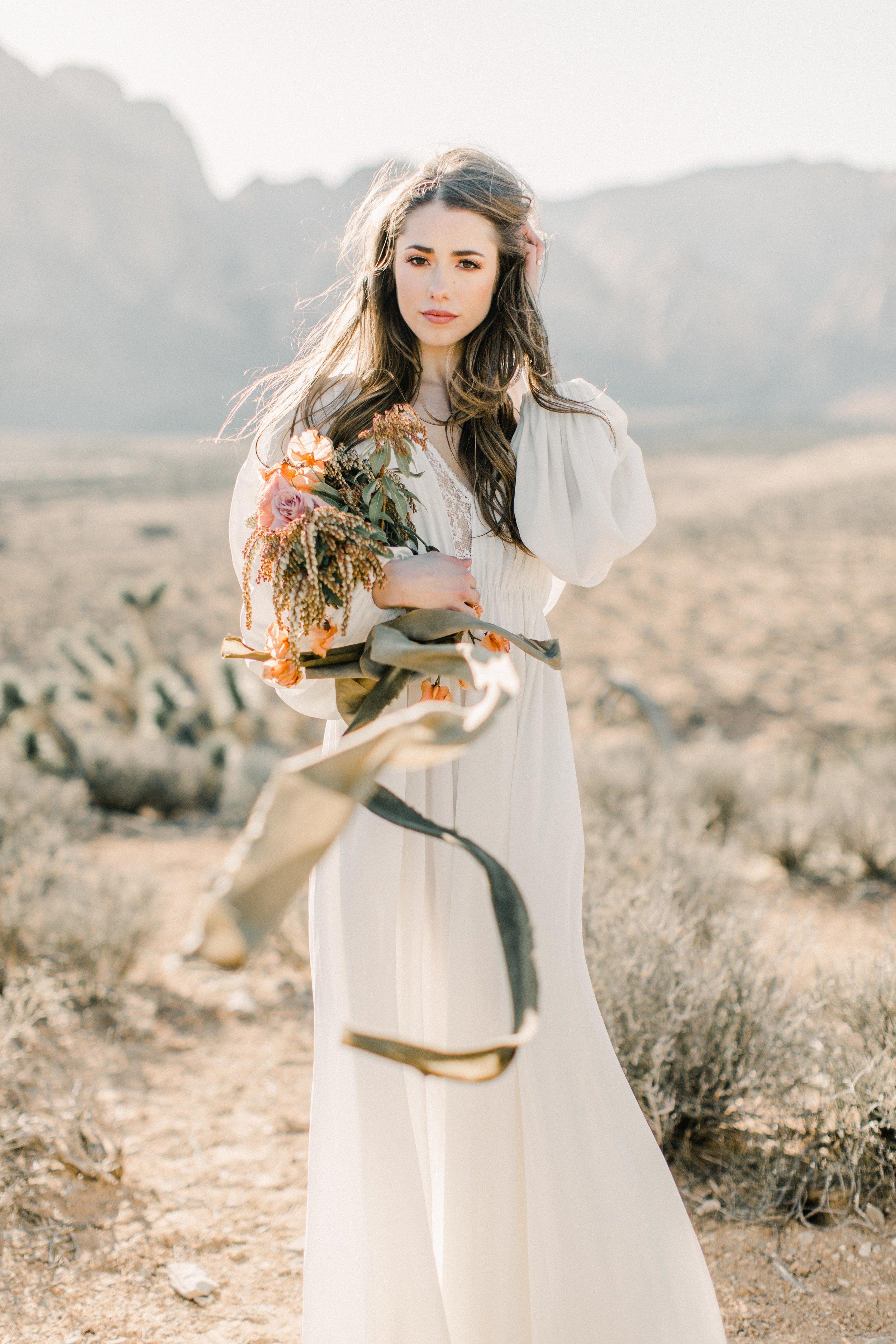 Desert Elopement | Las Vegas Wedding | Desert Wedding | Babsie Ly Photography | Julie Paisley Shootout | Fine Art Wedding Blog | Joy Wed | Canadian Wedding Blog | Stacey Foley Design