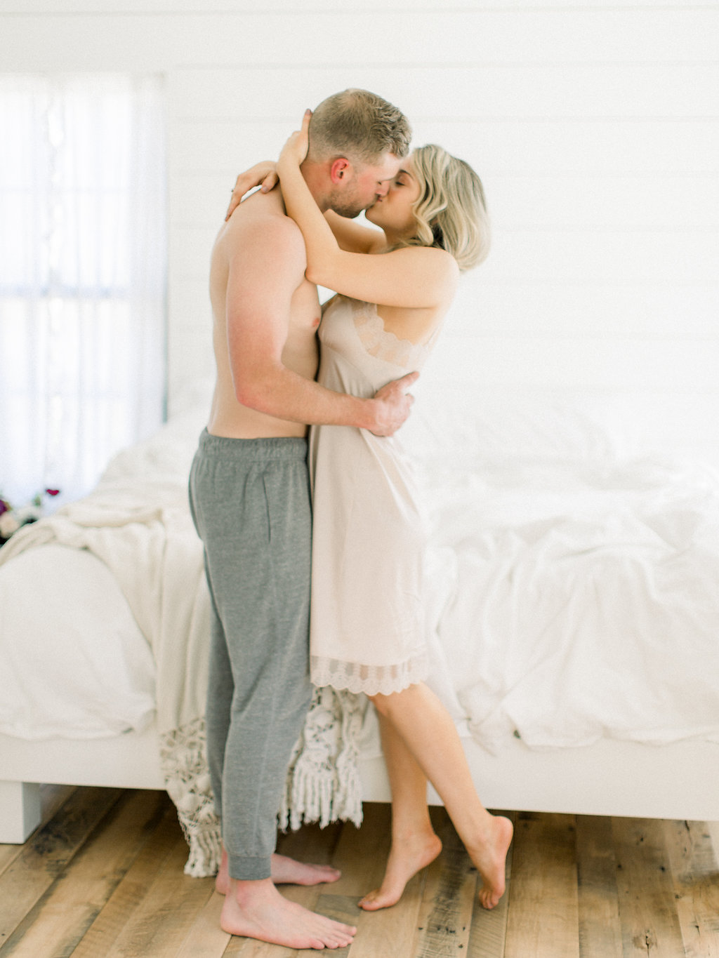 Farmhouse Wedding | Intimate Elopement | Jordan & Alaina Photography | Home Engagement Session | Joy Wed | Fine Art Wedding Blog | Canadian Wedding | Stacey Foley Design | Canmore Wedding Planner