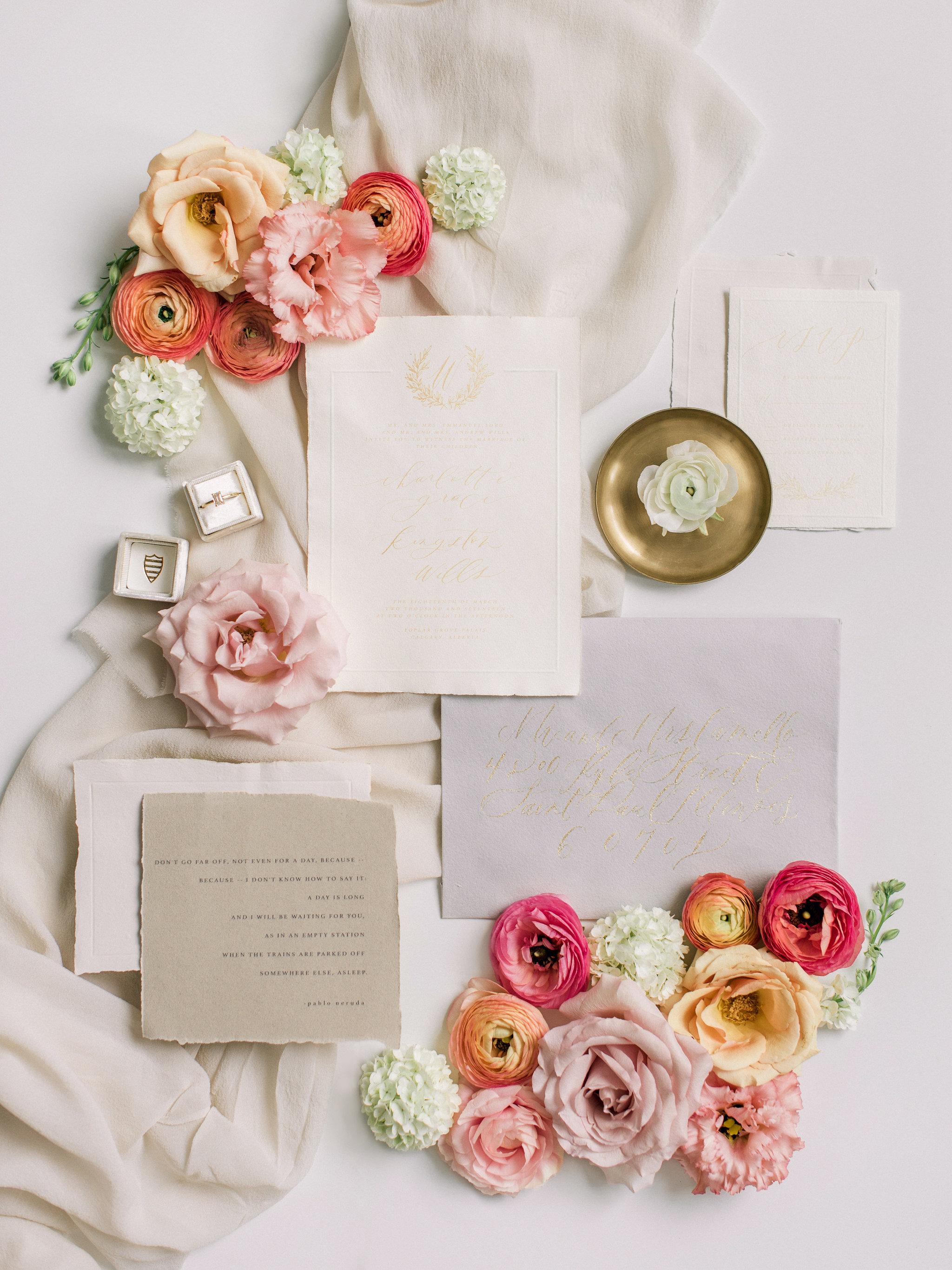 Romantic Wedding Inspiration | Spring Wedding | Summer Wedding Inspiration | Kristyn Harder Photography | Calgary Wedding Photographer | Fine Art Weddding Blog | Joy Wed