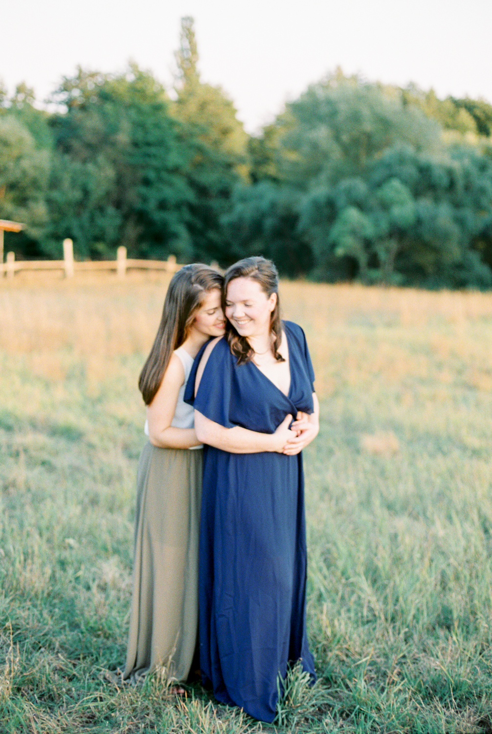 Sunset Engagement Session | Same Sex Engagement Session | Abbey Leigh Photography | Joy Wed | Canadian Wedding Blog