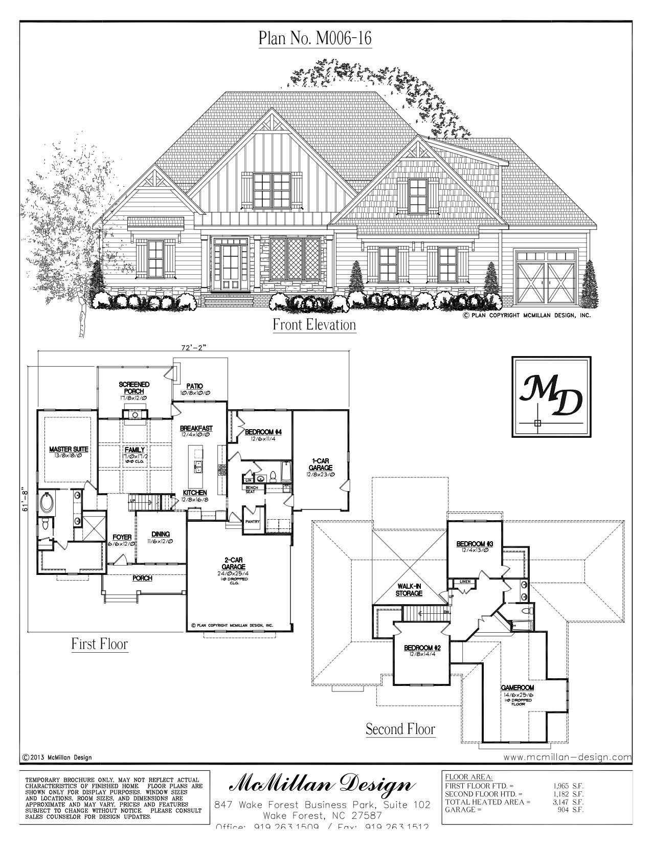 This beauty will be making its way to Lot 24 at Barham Crossing in Wake Forest for an October 2016 delivery. Contact us to find out more!