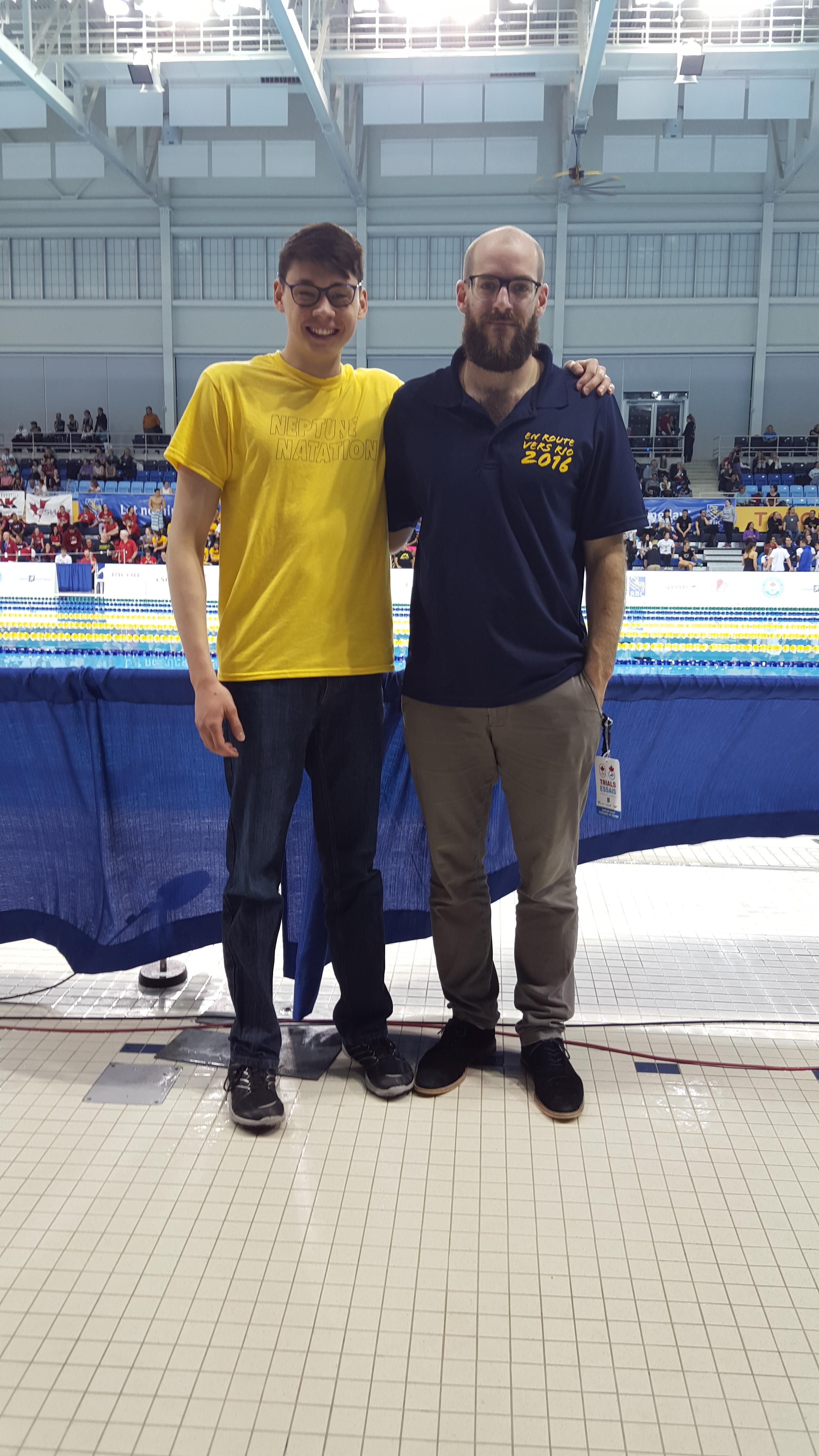 Vincent et son coach
