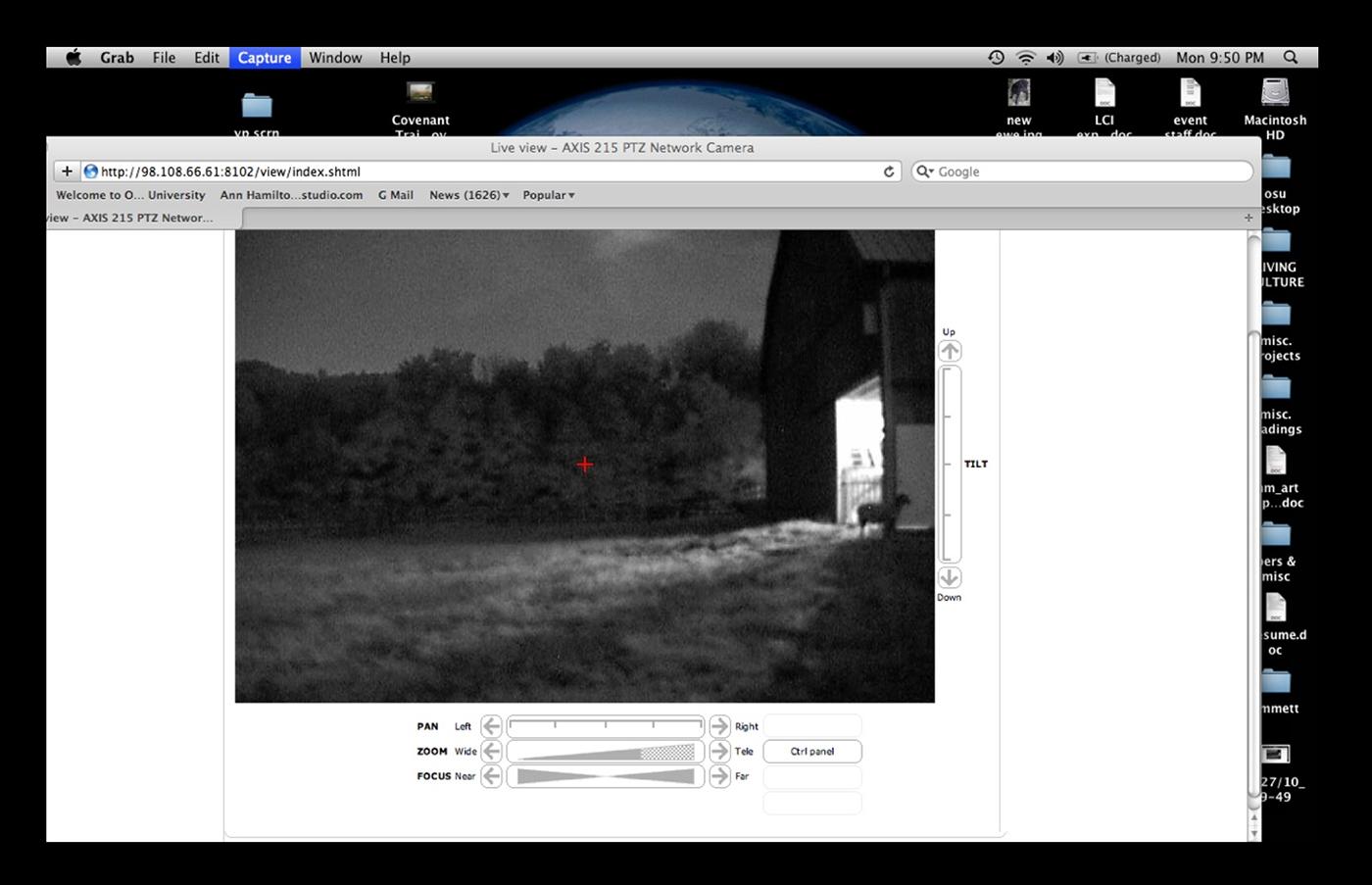 Desktop screen capture  9:50pm 28 June 2010