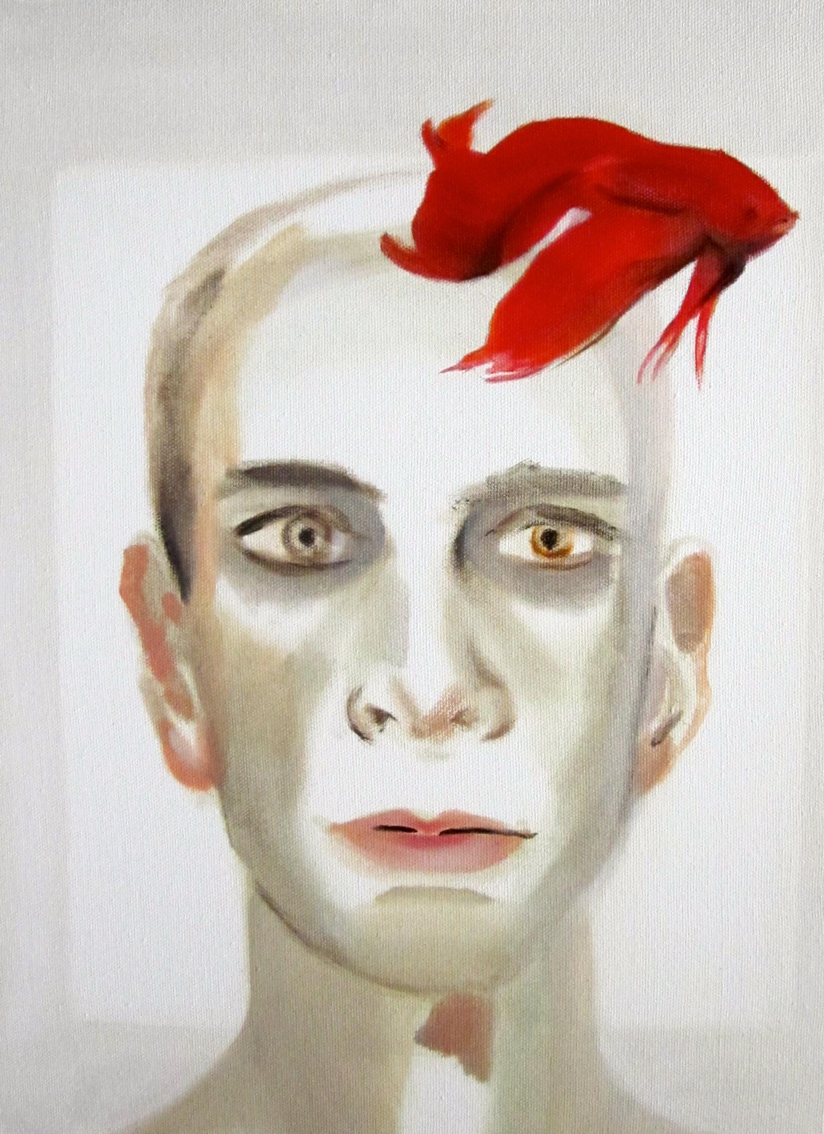 """Matthew Capaldo, """"self-portrait beta"""""""