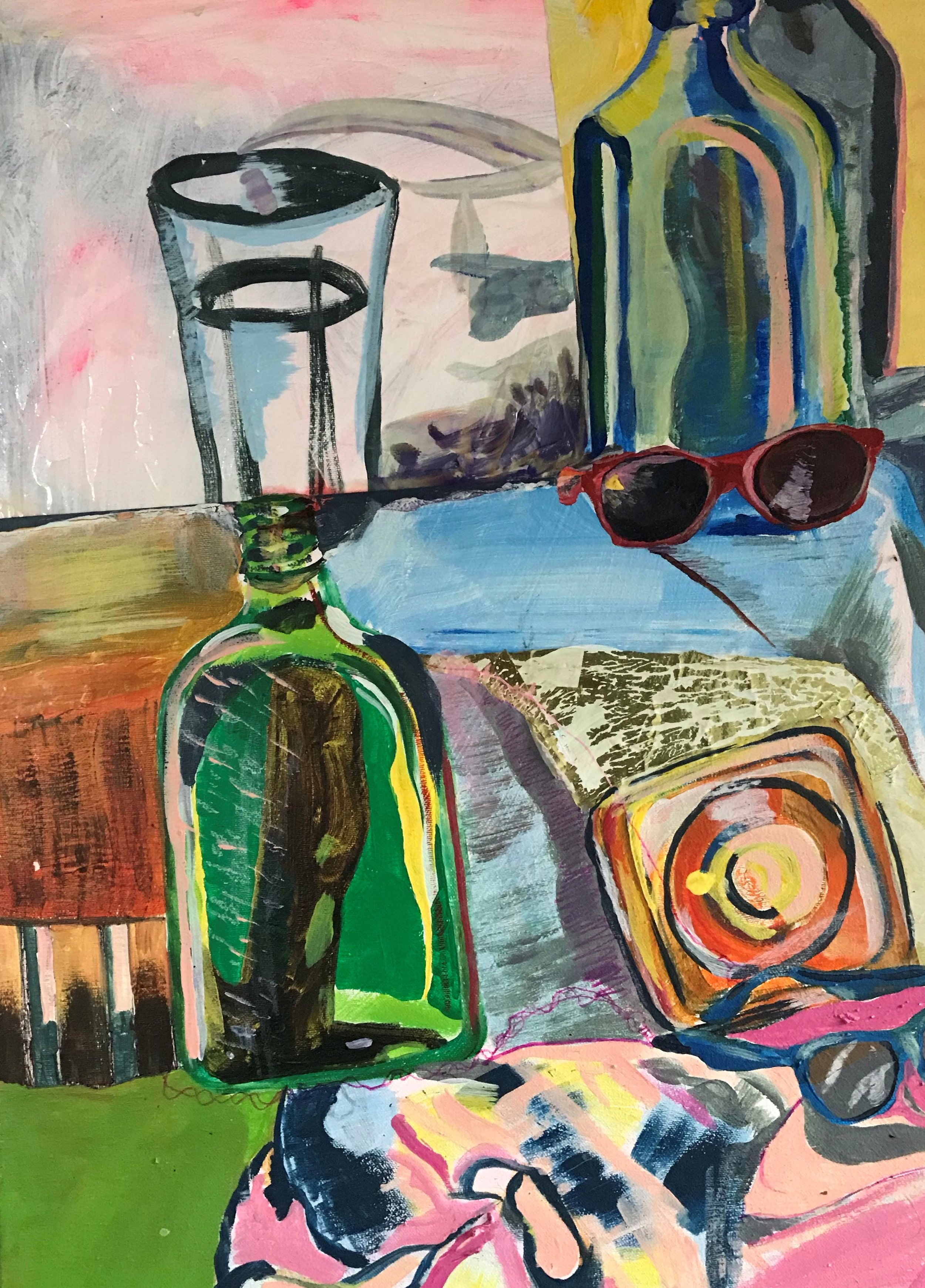Paul Rizzo - Still Life on Futon Bed