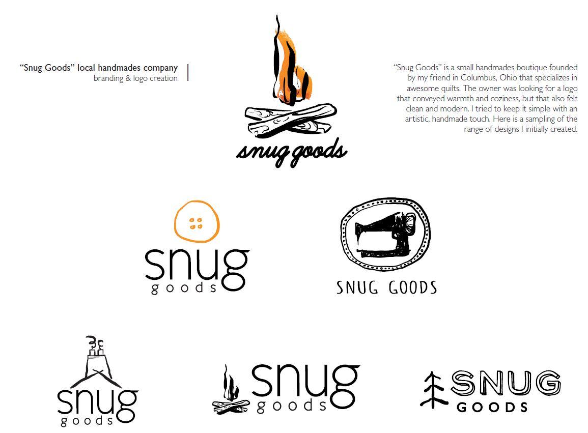 'Snug Goods'  Logo Design & Branding