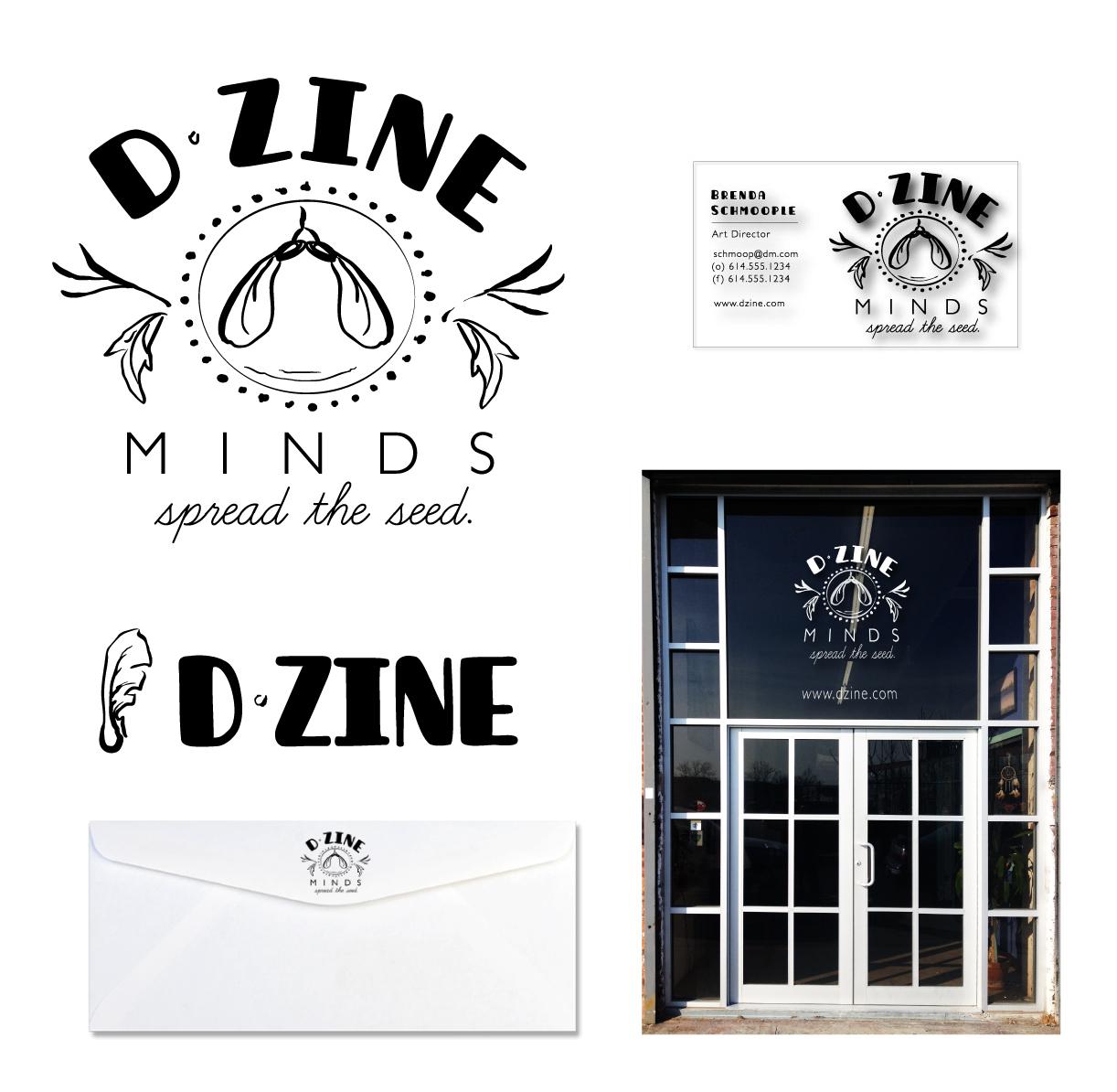 'D-Zine Minds'  Branding & Logo Design