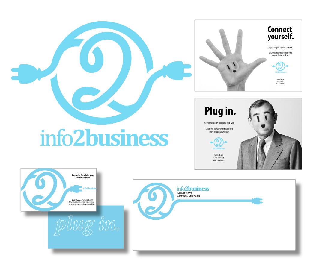 'i2b' Tech Sharing Company  Logo Design & Branding