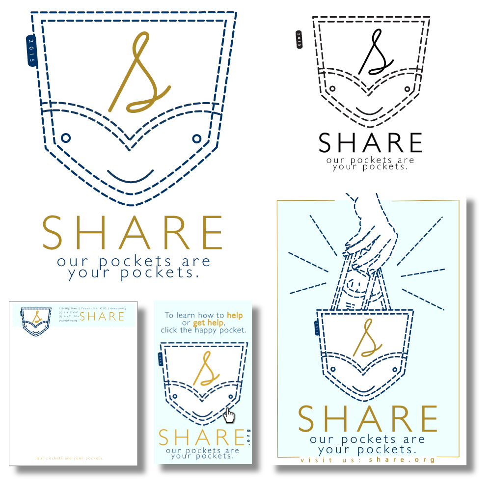 'Share' Community Non-Profit  Logo Design & Rebrand