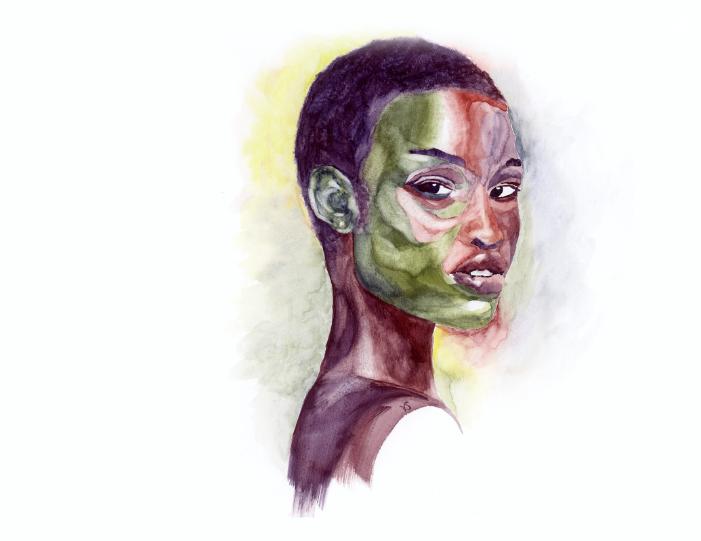 Watercolor by  Vessna Scheff