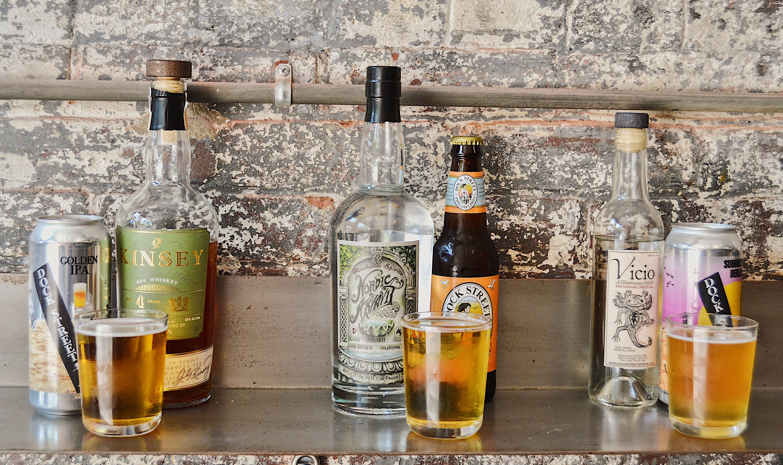 Some of the all-star ingredients behind the new cocktails.