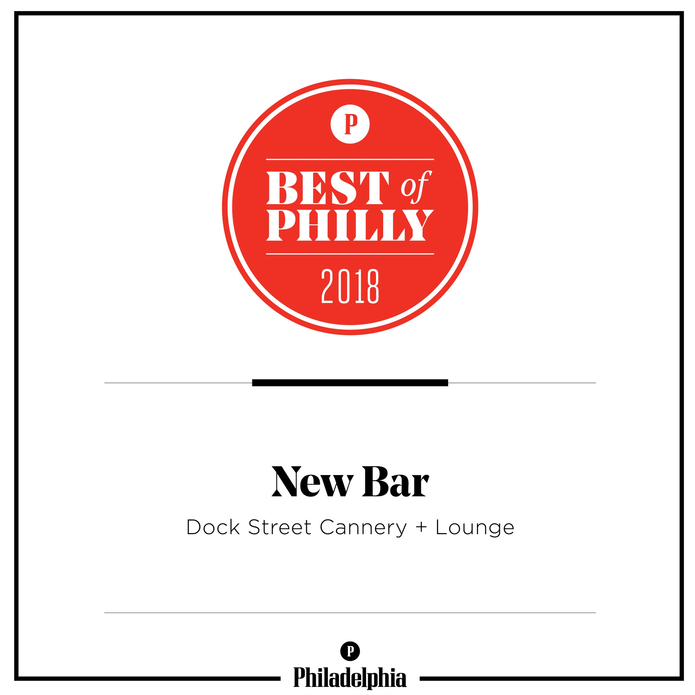 best new bar Philly