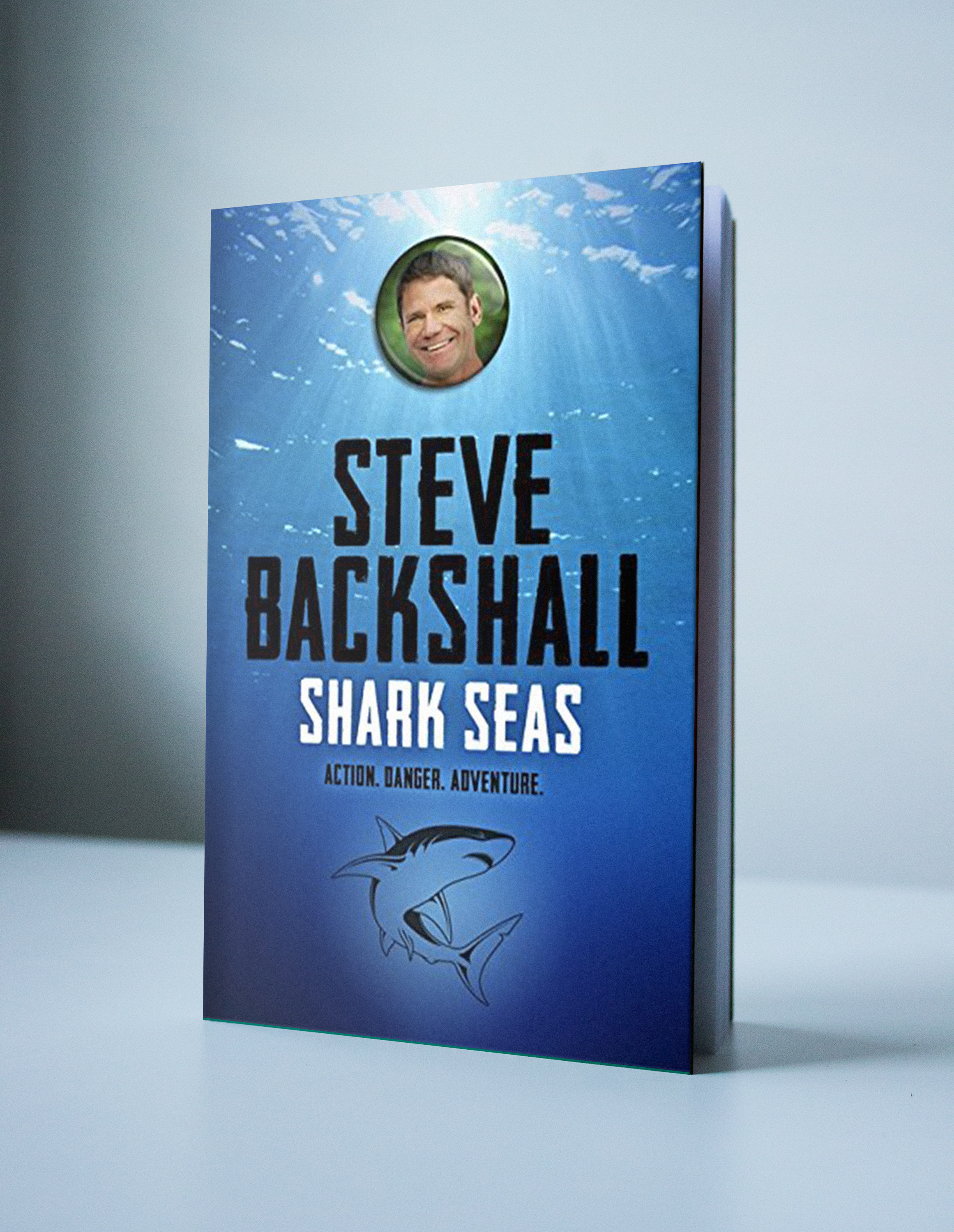 Steve Backshall Shark Seas