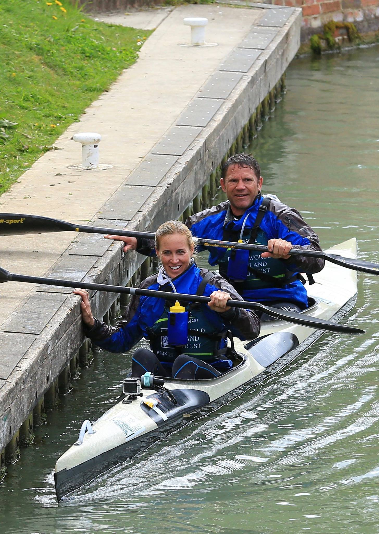 Congratulations to Steve Backshall and Helen Glover for completing the 125 mile canoe race from Wiltshire to Westminster last month and raising over £150,000 for the World Land Trust  goo.gl/2CqNkW