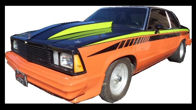 1980 Chevrolet Malibu Strip Car