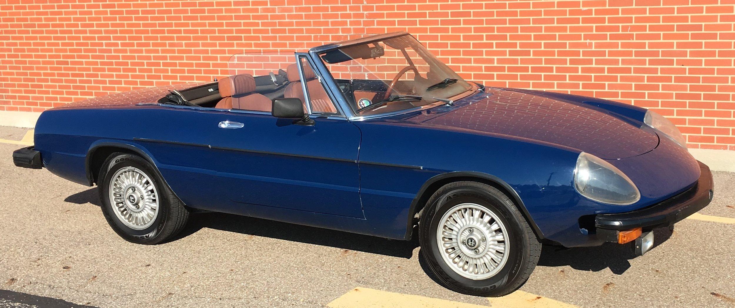 1975 Alfa Romeo Convertible