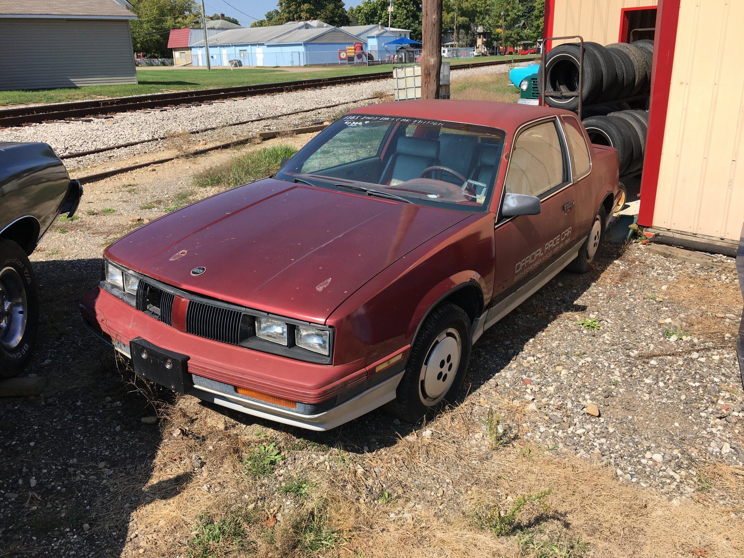 1985 Oldsmobile Calais Pace Car
