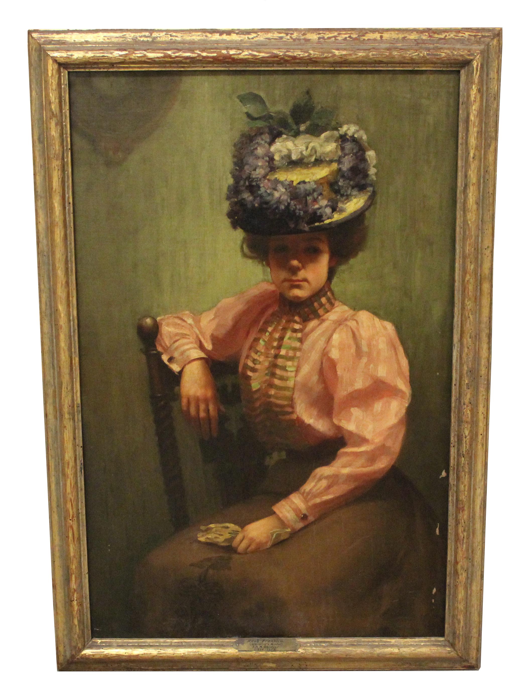 Portrait of Maude Franklin