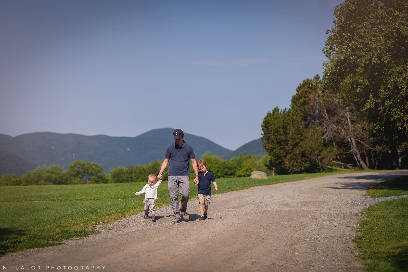 Family vacation at the Trapp Family Lodge in Stowe Vermont. Photo by N. Lalor Photography.